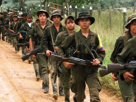 Повстанці з Революційних збройних сил Колумбії