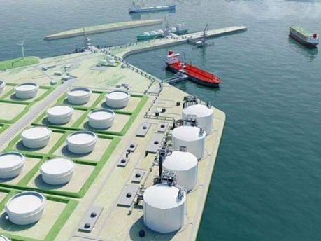 """Янукович пообіцяв збудувати термінал для """"альтернативного"""" газу"""