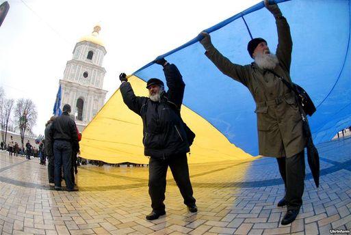 Празднование состоялось по всей Украине