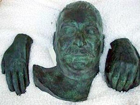 Посмертная маска Иосифа Сталина