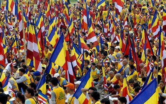 Столкновения произошли во время акции протеста тибетских активистов