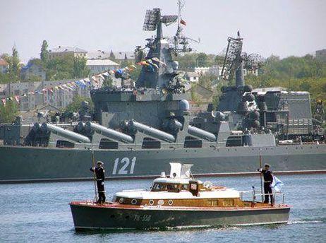 По словам, Грищенко часть объектов флот не использует