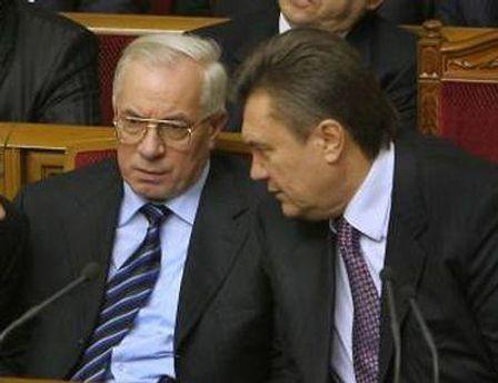 Янукович попросив Азарова почекати до весни
