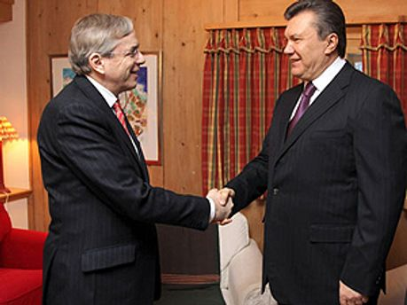 Томас Миров и Виктор Янукович