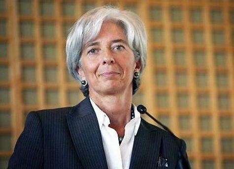 Руководитель МВФ Кристин Лагард