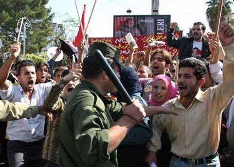 Протести у Сирії тривають з березня минулого року