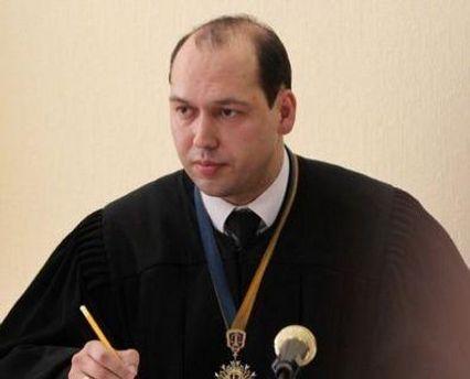 Суддя Сергій Вовк