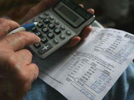 Украинцы увеличили долги за коммуналку в декабре 2011 года