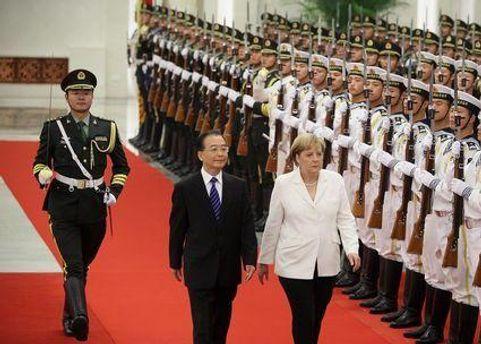 Ангела Меркель у Китаї