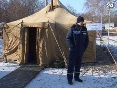 По всей Украине работают более тысячи пунктов обогрева