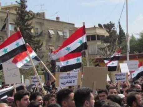 Демонстранти сирійської опозиції