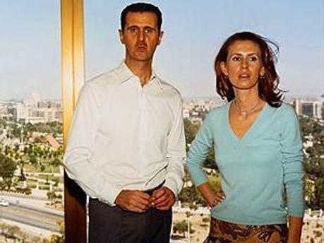 Башар и Асма Асад