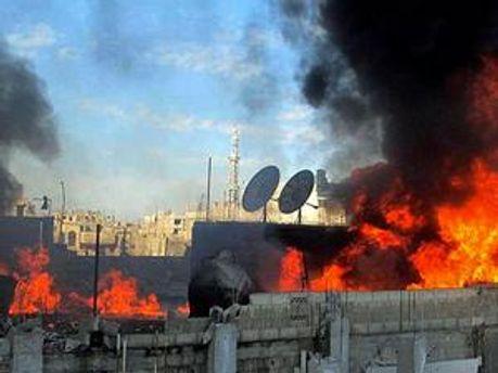 У Хомсі почалась зачистка