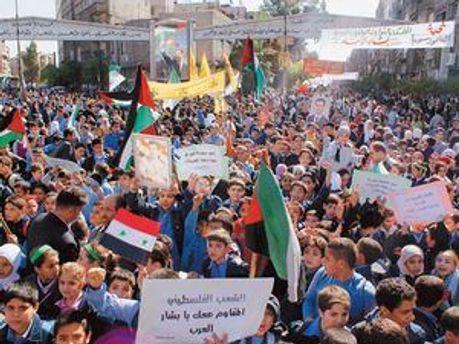 Массовые беспорядки в Сирии