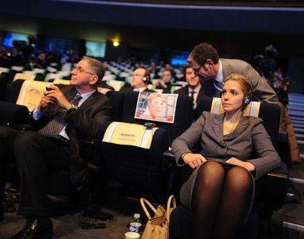 Евгения Тимошенко на саммите ЕНП