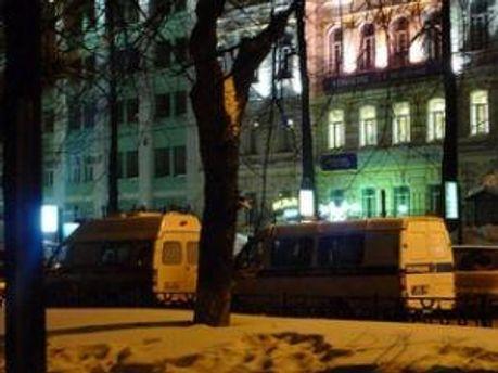 Московська поліція шукає бомбу у штабі