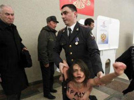 Активистки FEMEN могут оказаться за решеткой