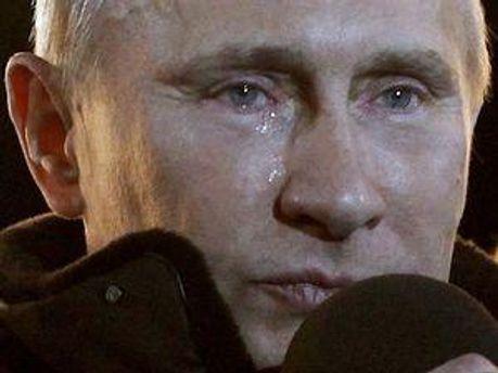 Свою речь Путин закончил словами