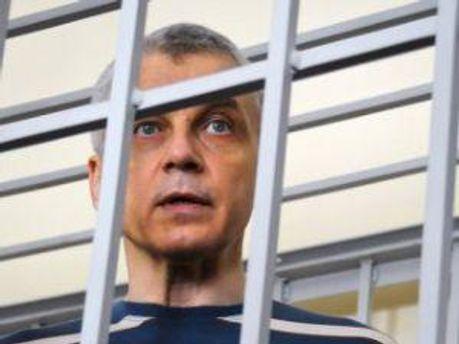 Валерій Іващенко під час судового засідання