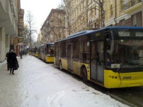 Киевская власть избавится от частных перевозчиков