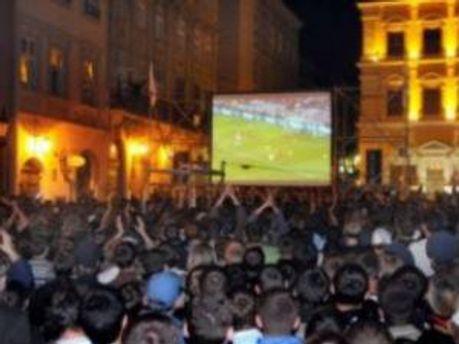 Львовские фан-зоны планируют открыть 7 июня 2012 года