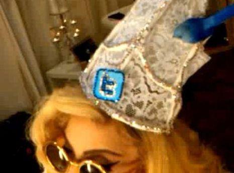 Леді Гага любить Twitter