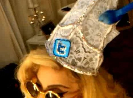 Леди Гага любит Twitter