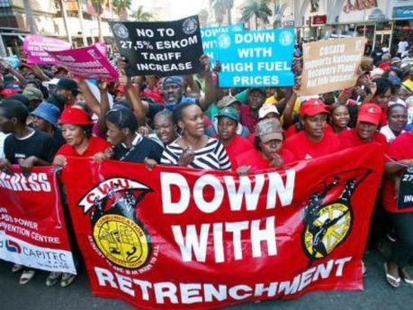 Конгресс южноафриканских профсоюзов