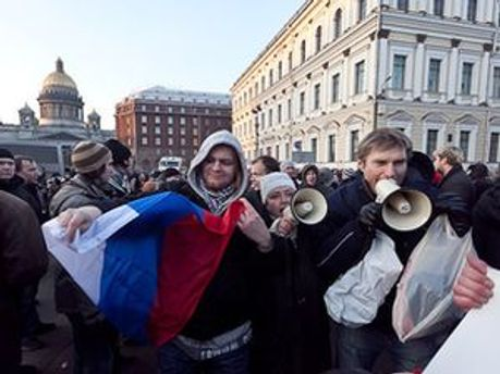 Проти активістів склали протоколи за непокору співробітникам поліції