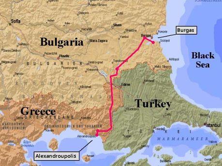 Нафтопровід Бургас-Александруполіс