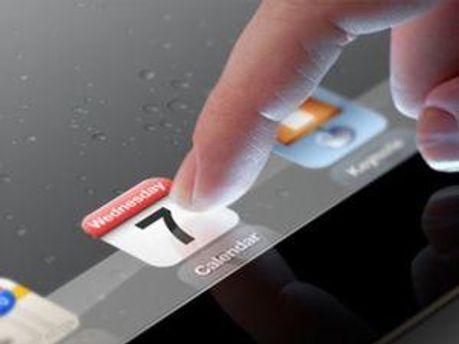 Ролик рекламирует новый экран с технологией Retina