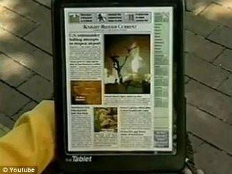 Так виглядав планшет, створений у 1994 році