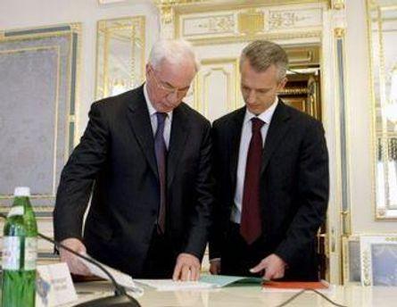 Азаров доручив Хорошковському проконсультуватись з учасниками ринку