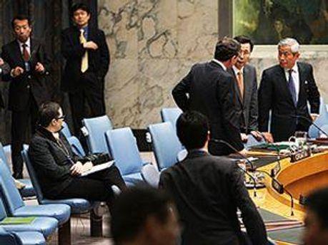 Представитель Пхеньяна ударил