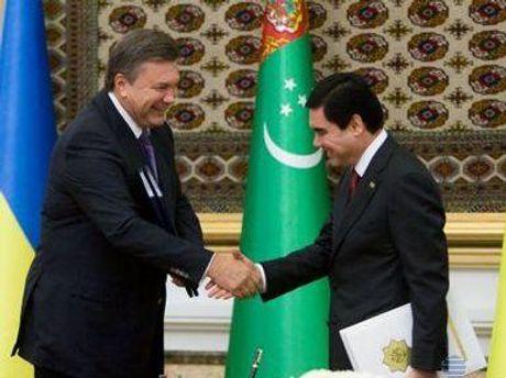 Янукович называет Туркменистан стратегическим партнером