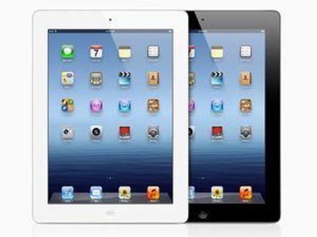 Новый iPad. Фото с сайта Apple