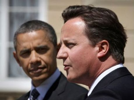 Барак Обама и Дэвид Кэмерон