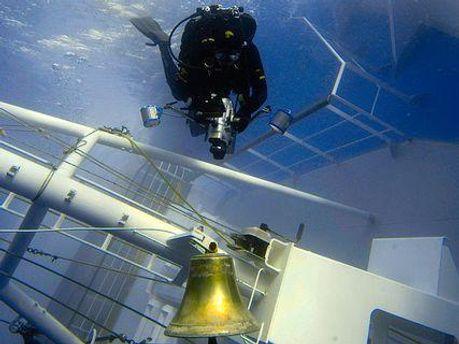 Колокол с Costa Concordia