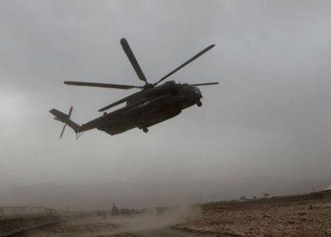 Гелікоптер миротворців у Афганістані