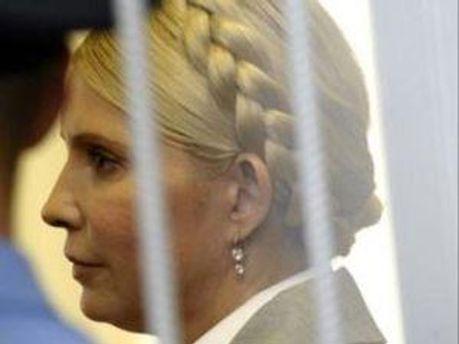 Юлія Тимошенко дивилась футбол у колонії