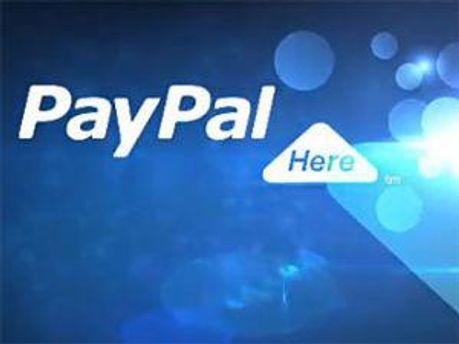 Логотип PayPal Here