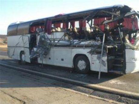 Жертвами аварии стали пассажиры автобуса