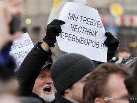 Оппозиционеры проводят митинги ежемесячно 31 числа