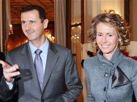 Башар Асад с супругой Асмой