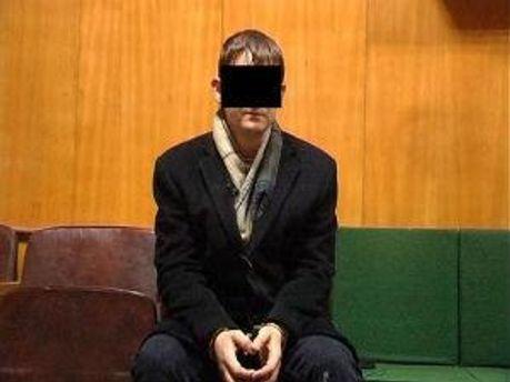 Обвинувачений у зґвалтуванні Максим Присяжнюк