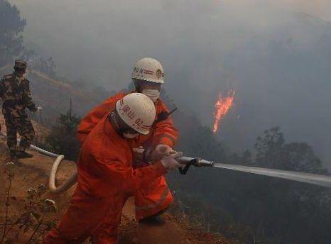 З вогнем бореться 2 200 рятувальників