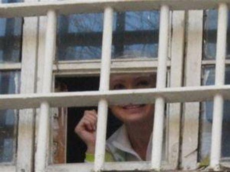 Юлия Тимошенко направила письмо из Качановской колонии
