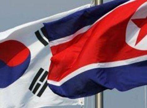 Флаги Южной и Северной Кореи
