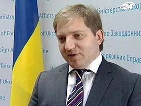 Керівник прес-служби МЗС Олег Волошин