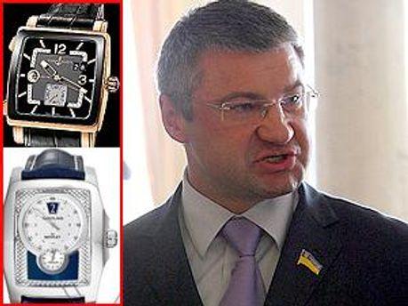 Сергей Мищенко и его часы